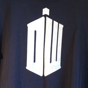 Official Doctor Who XL T-shirt